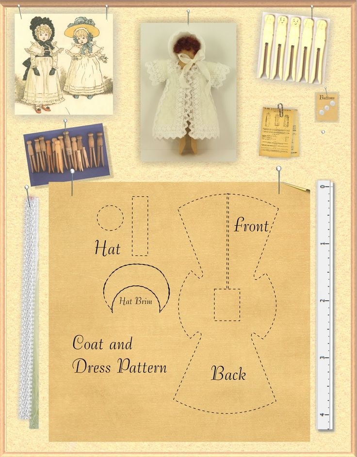 how to: child doll's coat (with link to AIM magazine, tutorial is in June/July 2010 issue)