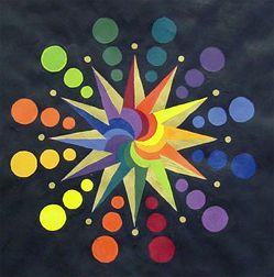 Complex Color Wheels... Design a color wheel that includes all 12 colors,