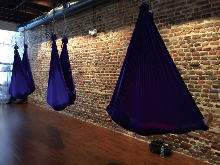 Purple Blossom Yoga Studio - Yoga In Greenville, NC USA :: Aerial Yoga Fun!
