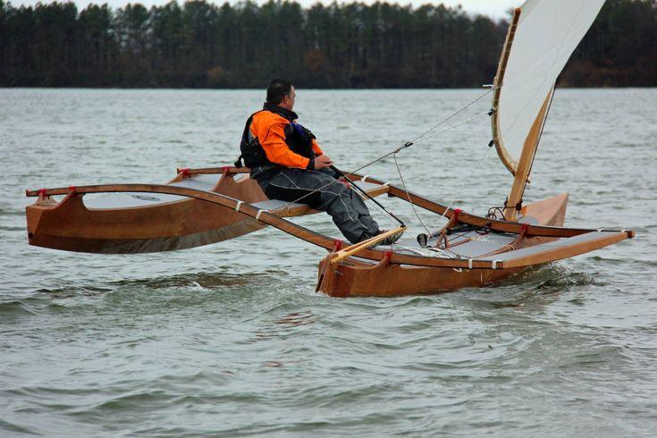 Clc Wooden Outrigger Catamaran Gear Amp Water Pinterest