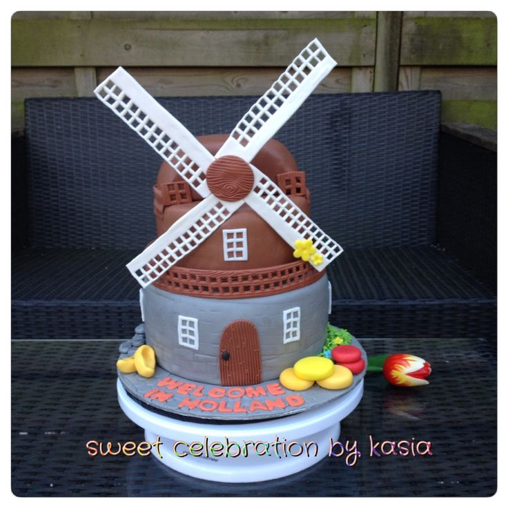 Windmill cake Sweet Celebration