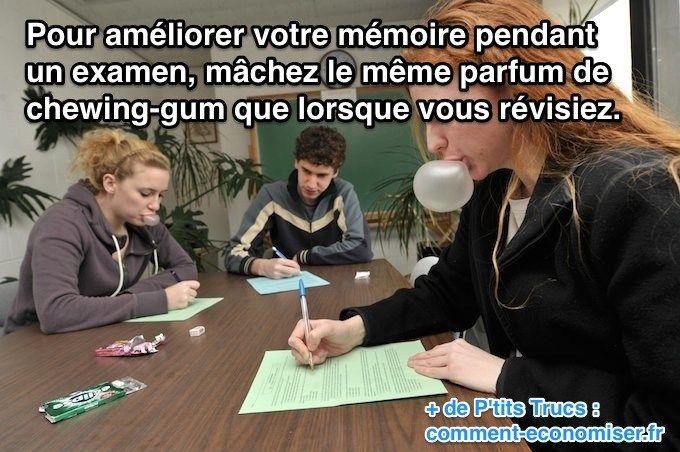 L'Astuce Secrète Pour Stimuler Sa Mémoire à un Examen.