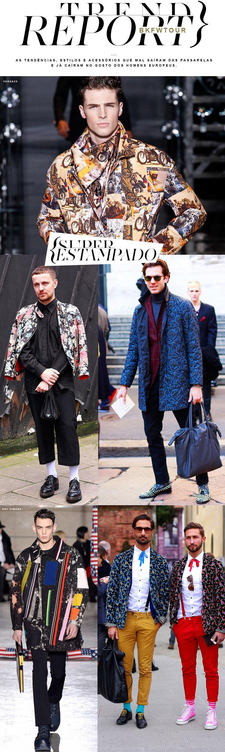 Matéria sobre as tendências da moda masculina disponível no Blog no Kadu