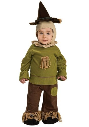 If your toddler needs to make a trip to see the Wizard, then he'd dress for the occasion. The full outfit is a cozy ensemble that prepares any toddler for a trek along the Yellow Brick Road.