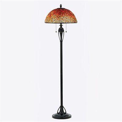 Quoizel TF135FBC 3-Light Pomez Tiffany Floor Lamp