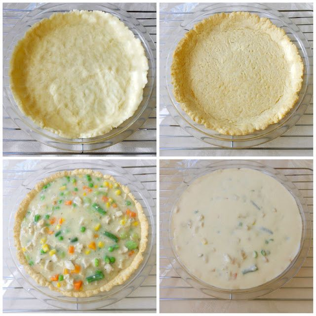 Quick and Easy Chicken Pot Pie made with Bisquick!