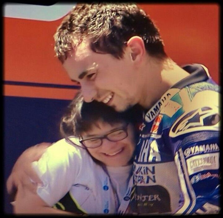 Jorge lorenzo and anna vives. Proud of them :)