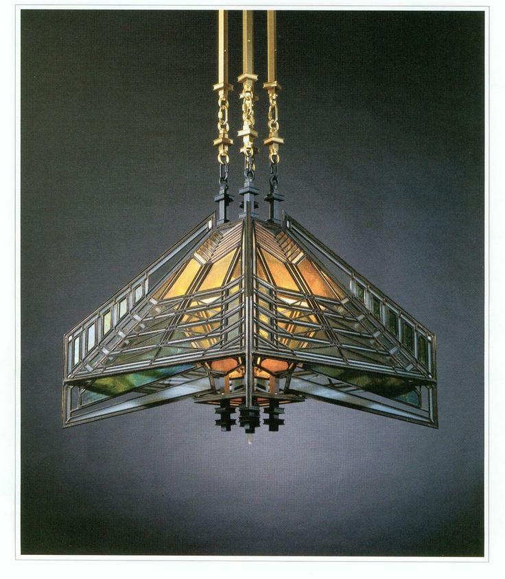 1000 images about craftsman style lighting on pinterest for Frank lloyd wright craftsman