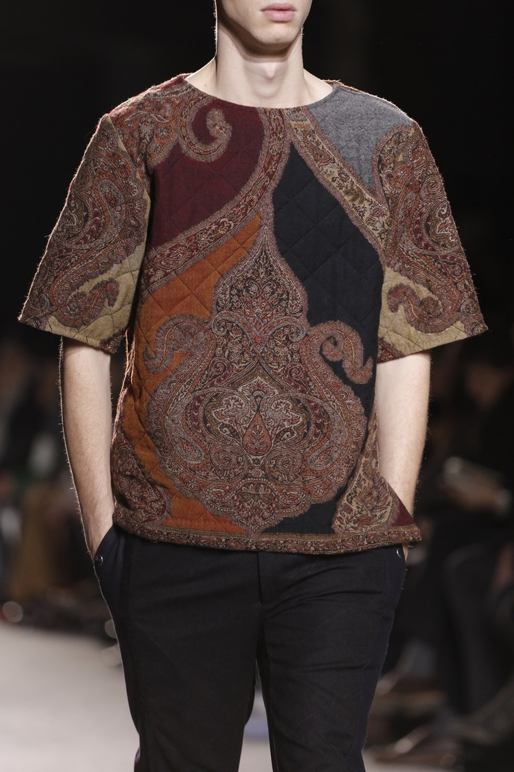 Dries Van Noten, Menswear, A/W 2013, Dark Clash, Trend Boutique, Research, Inspiration, Garments