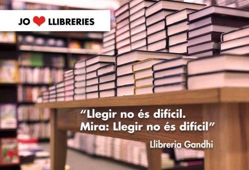 Tu ♥ llibreries? Comparteix-ho!