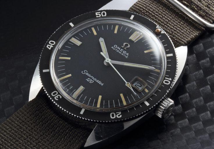Omega Seamaster 120 m-Ref.166.027 matte black dial-1968 - 38mm