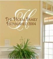 Family Wall Sayings  Can custom make and order!!