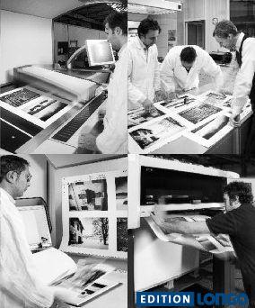 """iew Frames - Ein Schwarzweiss-Bildband entsteht  Schwarzweiss-Fotografien sind ungleich schwieriger zu reproduzieren als farbige. Für """"View Frames"""" wurde ein eigens angemischtes Schwarz verwendet, das mit einer Mischfarbe (Grau) ergänzt wird. Ein optimales Ergebnis wurde aber erst durch den Einsatz spezieller Gradationskurven erzielt, die bei uns im Haus entwickelt wurden.  #Drucktechnik   #bildband   #sw   #schwarzweiss  #foto #blackandwhite"""