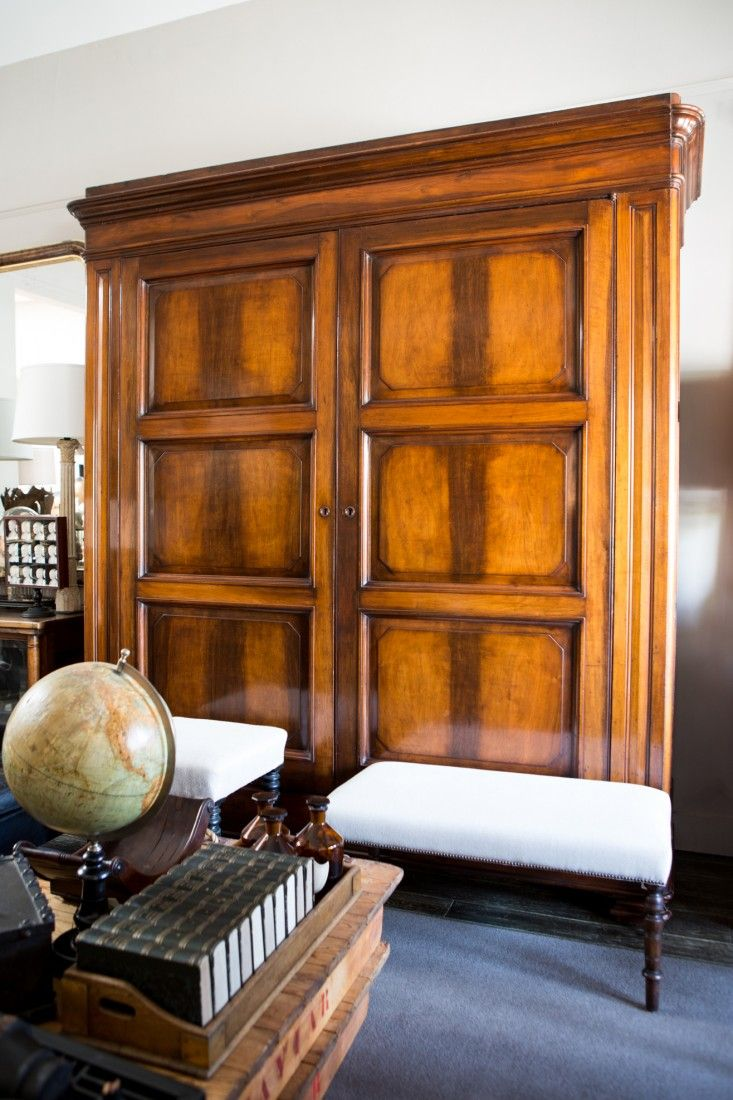 Great advice on how to care for furniture, antique or otherwise from Lee Stanton Antiques via Remodelista - and how stunning is this polished walnut armoire