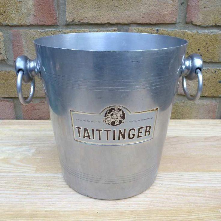 Taittinger Champagne Ice Bucket - KIB183 #Taittinger