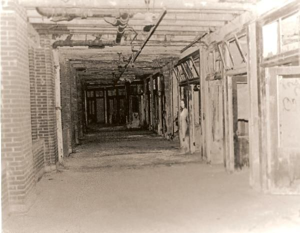 Waverly Hills Sanatorium photo taken by a paranormal investigation.