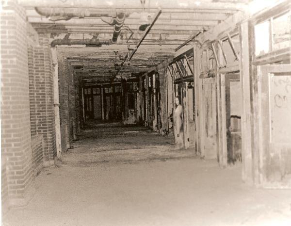 Waverly Hills Sanatorium photo taken by a paranormal investigation.