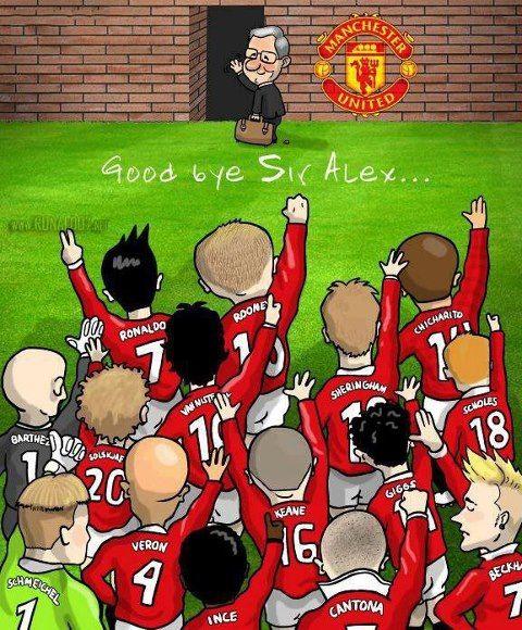 Goodbye Sir Alex Ferguson!!! 26 Years Manchester United