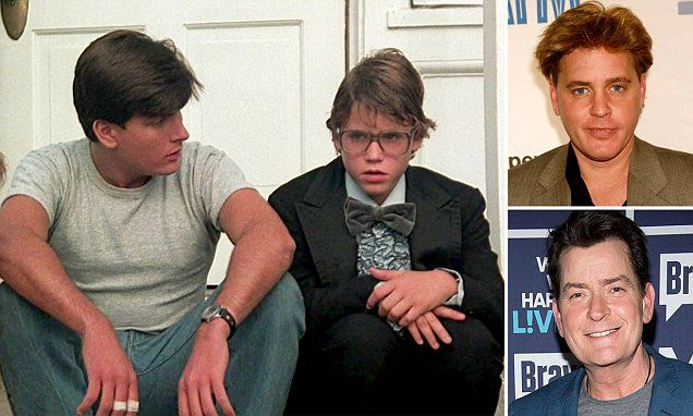 Charlie Sheen allegedly sodomized Corey Haim at 13 on set of Lucas