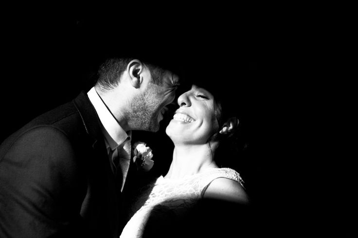 A really natural shot from Helen and Baz's wedding- unstaged, in a spot light.