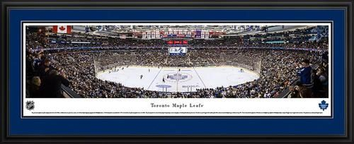 Toronto Maple Leafs Panoramic Picture Deluxe Matted Frame
