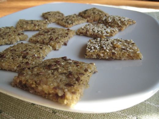 Gluten Free + Vegan Chewy Crackers: Food Recipes, Chewy Crackers, Gluten Free Vegan, Vegan Chewy, Chia Seeds, Vegans, Vegan Seed