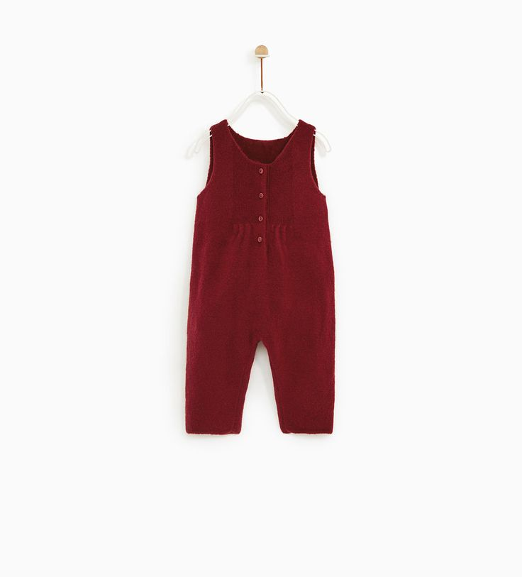 ZARA - KIDS - BUTTONED JUMPSUIT WITH GATHERED DETAIL