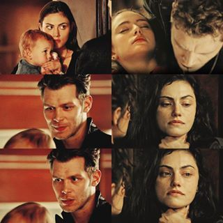 Klaus And Hayley Taking One Last Look At Their Family Before Sacrificing Themselves The Originals Finale Vampire Diaries The Originals Hayley And Klaus