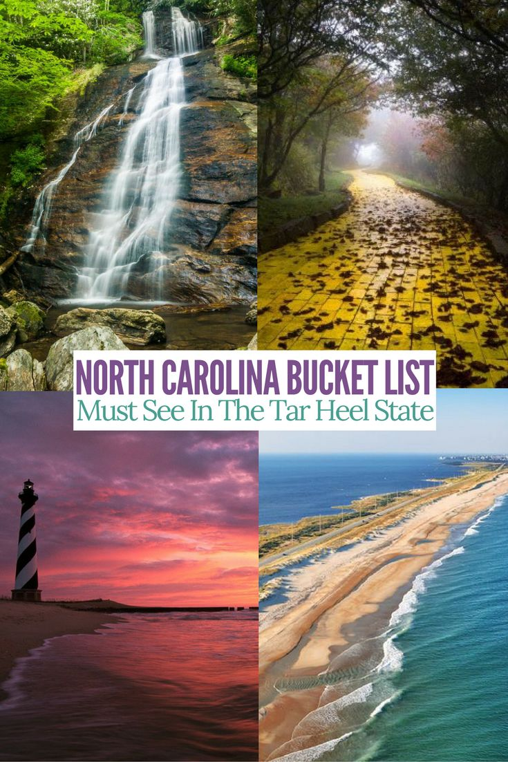 Amazing sites to see in North Carolina. Must add these to your bucket list.