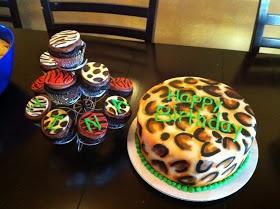 Cakes by Jake:  Cheetah Birthday Cake