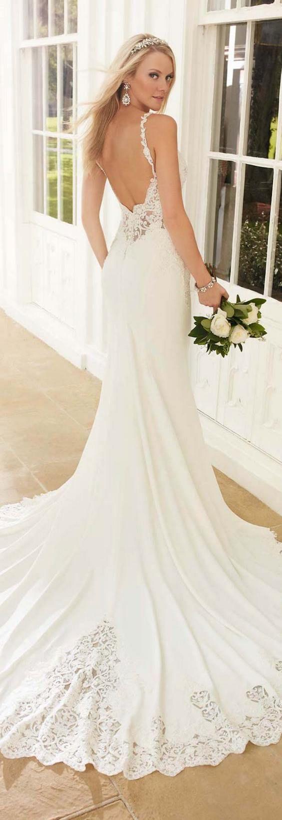 Best 25+ Open back wedding ideas on Pinterest   Open back ... - photo #7