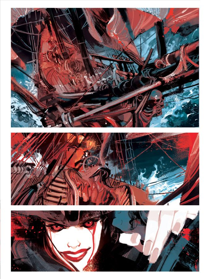 Dylan Dog MATER DOLOROSA page 09 by GigiCave on DeviantArt