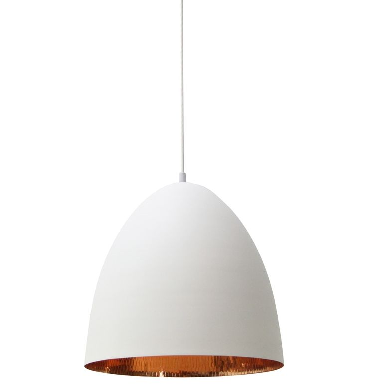 Rosen Dome Pendant - Matt Blatt $395 30cm W x 30cm H