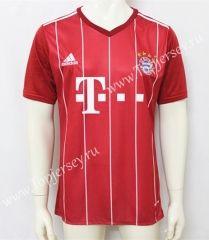 2017-18 Bayern München Home Red Thailand Soccer Jersey