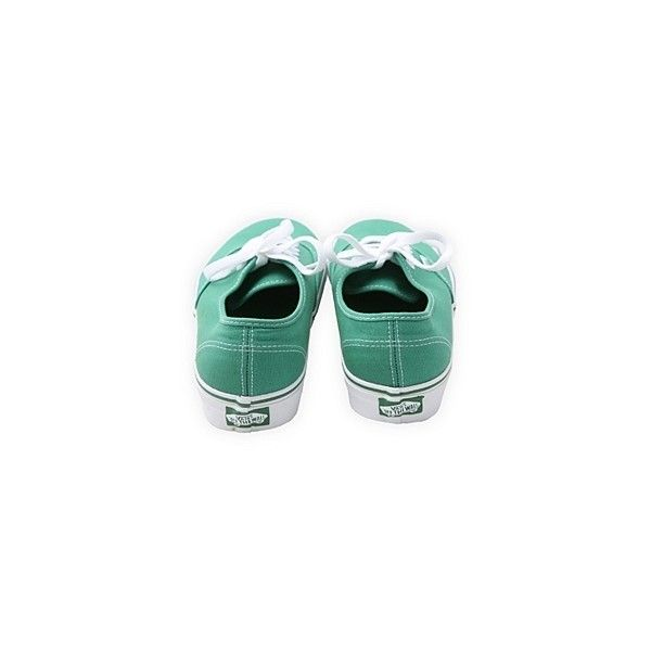 Sneakers - Shoes - Vans Green Lace-Up Sneakers (130 BRL) ❤ liked on Polyvore featuring shoes, sneakers, vans, zapatos, laced sneakers, laced shoes, vans trainers, laced up shoes and vans sneakers