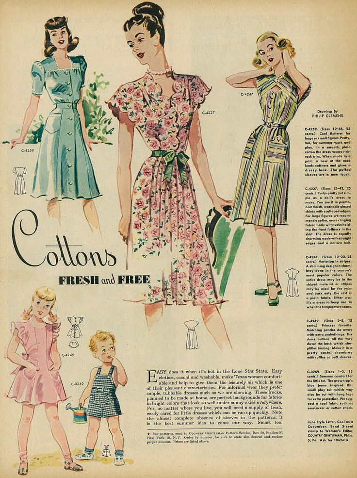 Age 6 summer dresses 1940s style