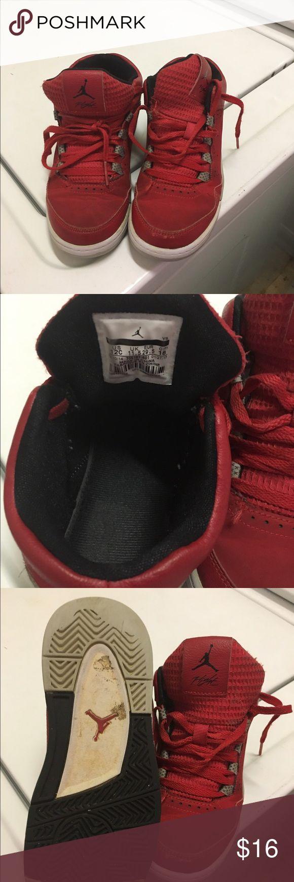 Jordan tennis shoes Red and black , used jordan tennis shoes ...still has some life Jordan Shoes Sneakers