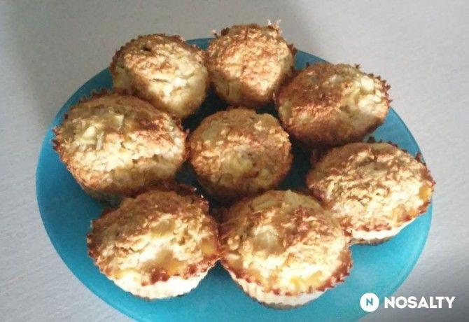 Piña Colada (zab)muffin