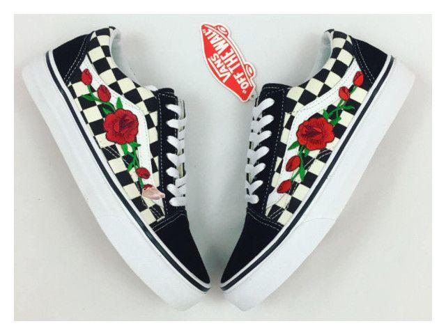Designer Clothes, Shoes & Bags for Women | SSENSE | Rose vans, Red ...