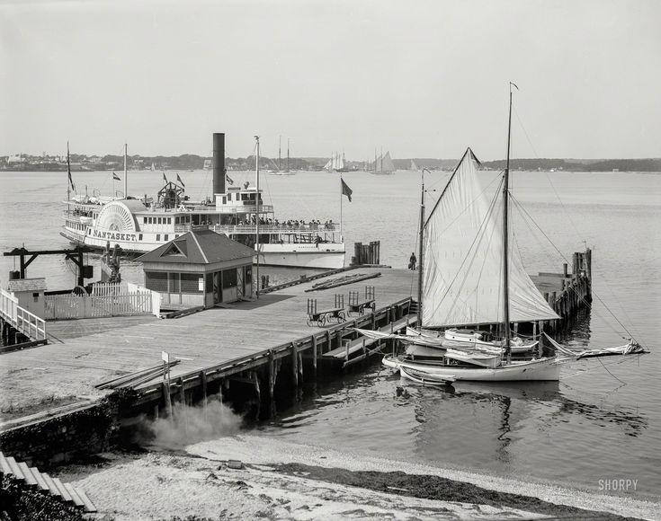 St. Augustine, Florida, circa 1904. Bay Street and