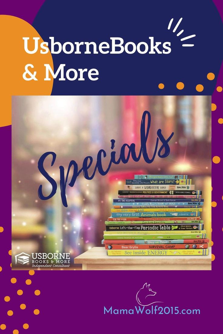Current sales and specials from usborne books more