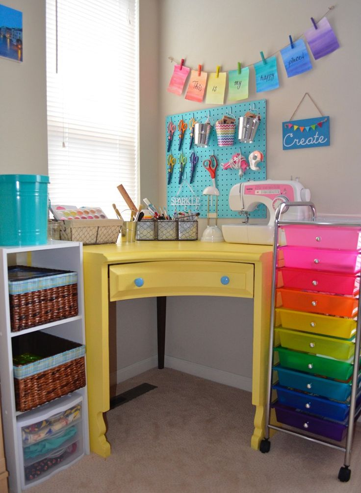 17 best images about kids playroom ideas on pinterest for Kids craft room