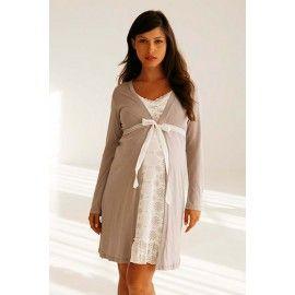 BelaBumBum Starlit Maternity/Nursing Robe - TummyStyle