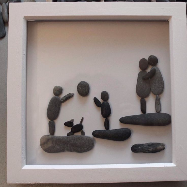 293 best images about diy art kunst stone stein on for Pebble art ideas