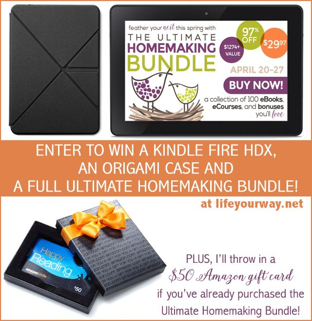 Kindle Fire HDX Prize Package