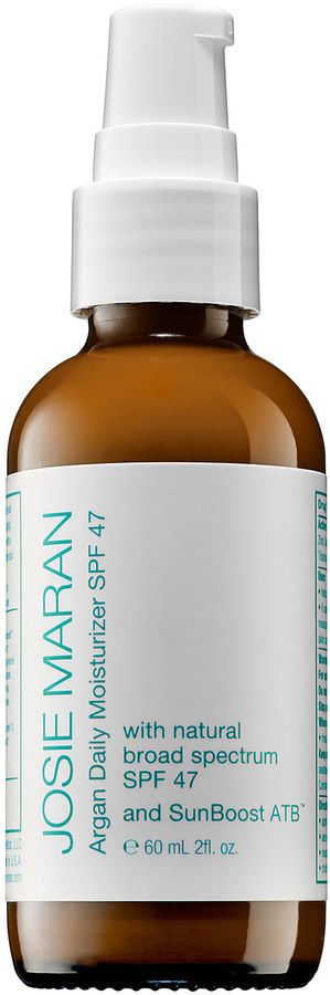 Josie Maran Argan Daily Moisturizer SPF 47 // Love this stuff!