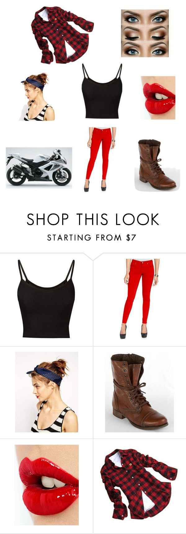 """""""Meeting Raph"""" by maryvarleyrox ❤ liked on Polyvore featuring Style & Co., ASOS, Steve Madden, Charlotte Tilbury and Edition"""