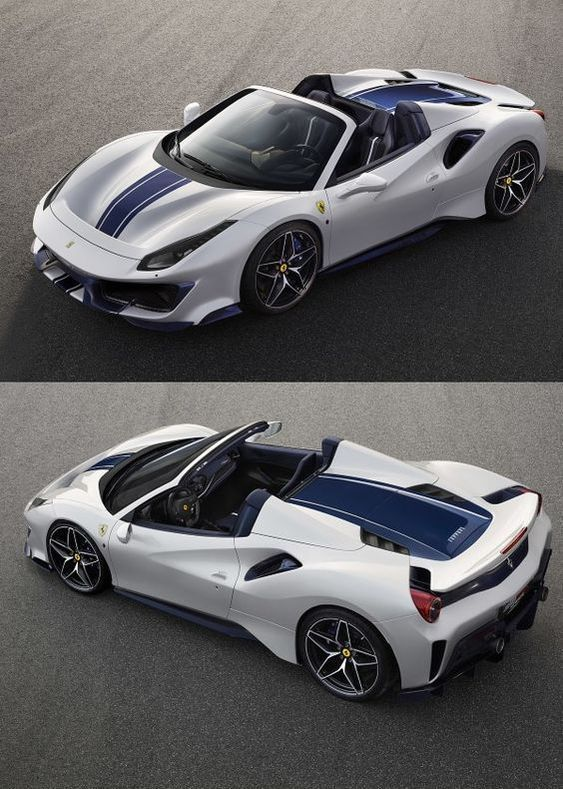 All New 2019 Ferrari 488 Pista Spider Super Sports Car Avtomobili