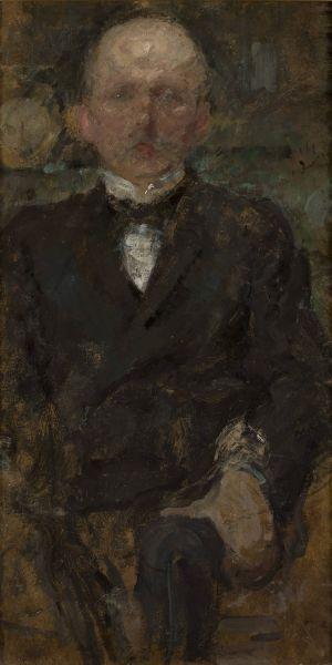 Portret męski - Olga Boznańska