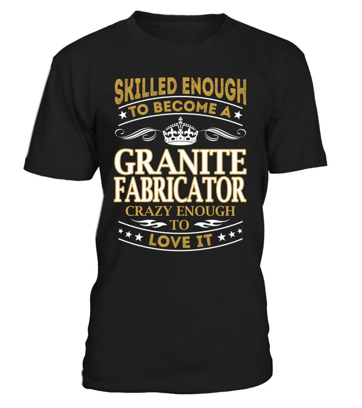 Granite Fabricator - Skilled Enough To Become #GraniteFabricator